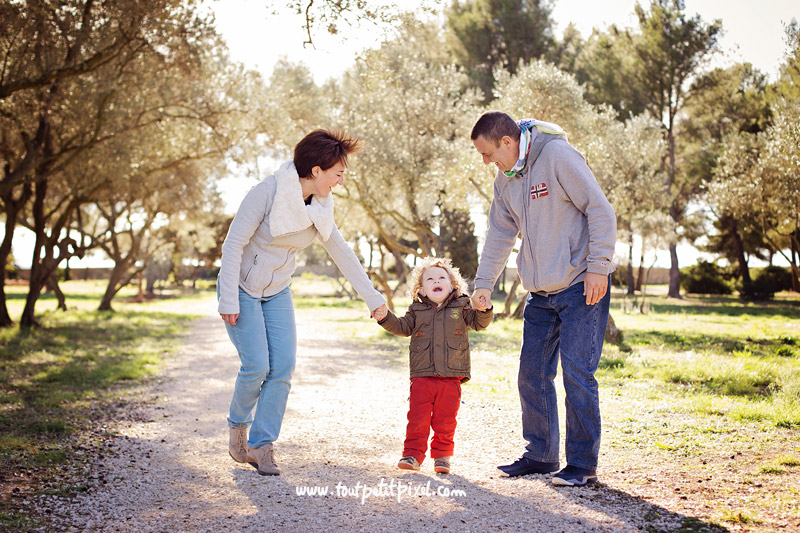 photo de famille à Martigues