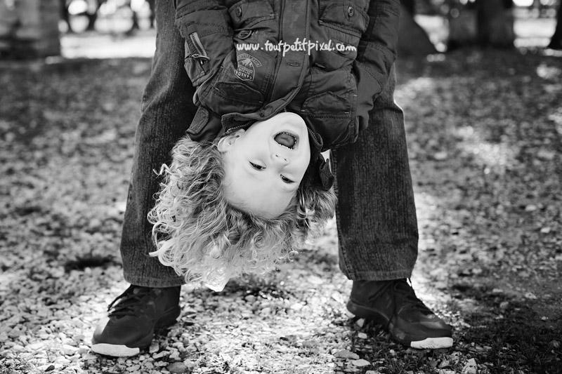 photographie d'enfant originale
