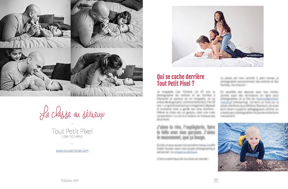 TOGzine - Photographe famille - Lisa Tichané