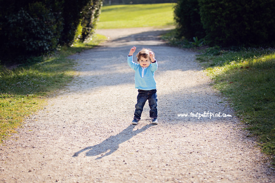 photo enfant ombre