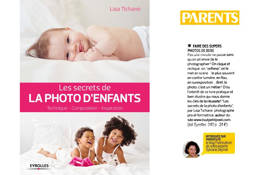 Les secrets de la photo d'enfants magazine parents