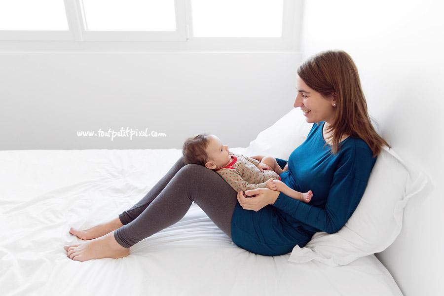 photo maman bébé lifestyle