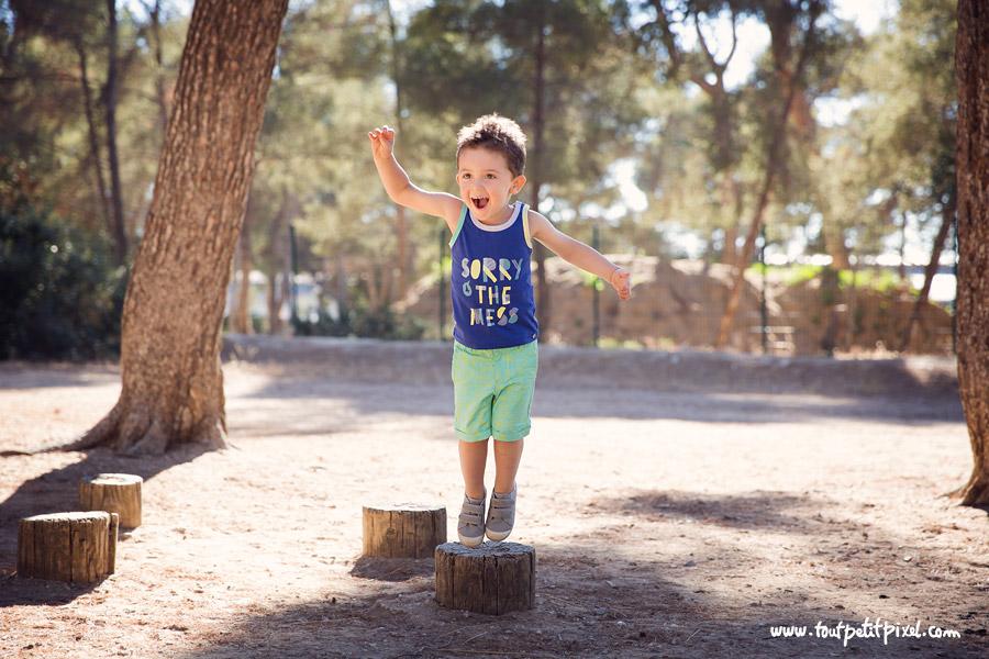 photo enfant au parc marseille