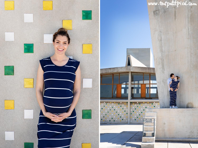 photos de grossesse urbaines à Marseille par Tout Petit Pixel, photographe enfant et famille lifestyle