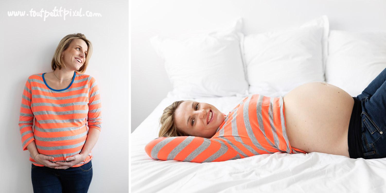 Photos de femme enceinte lifestyle par Tout Petit Pixel, photographe enfant et famille Marseille
