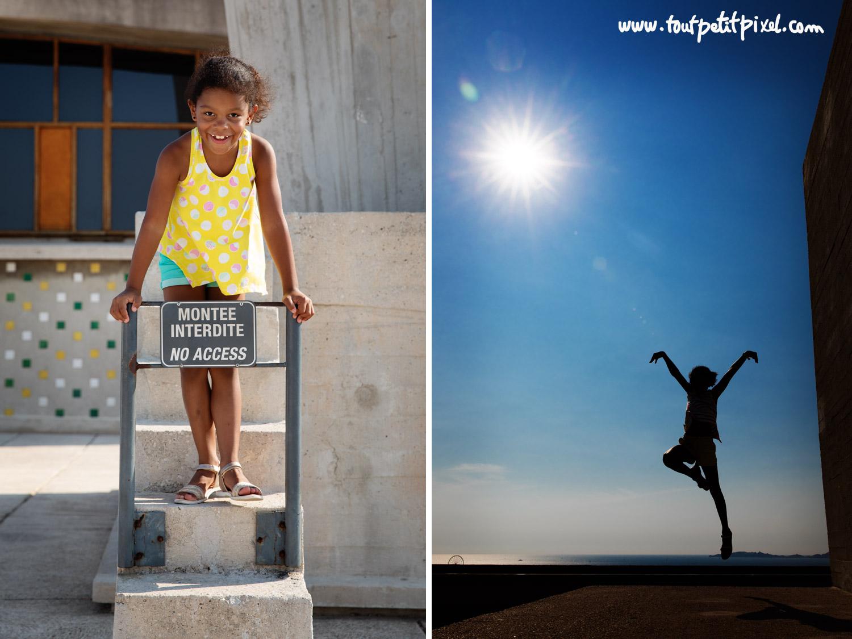 Photos d'enfant originales par Tout Petit Pixel, photographe famille Marseille