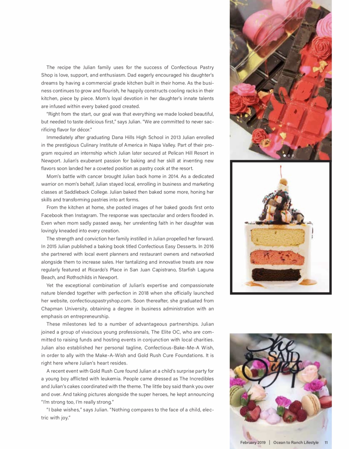Nicci Julian in Ocean to Ranch Article - February 2019 - Page 2