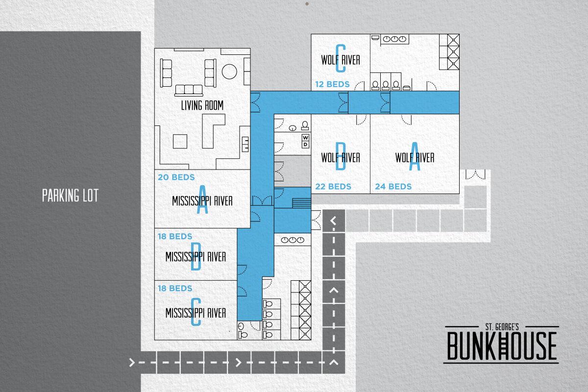 diagram of bunkhouse serve901     housing  serve901     housing