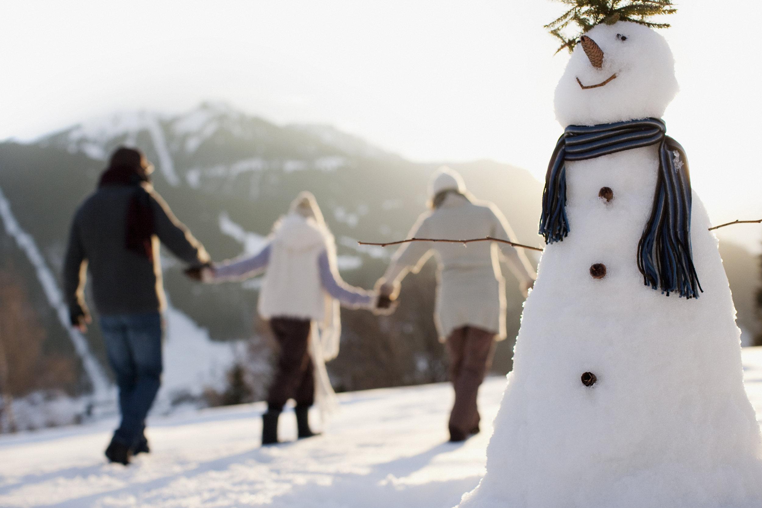 loving kindness snowman