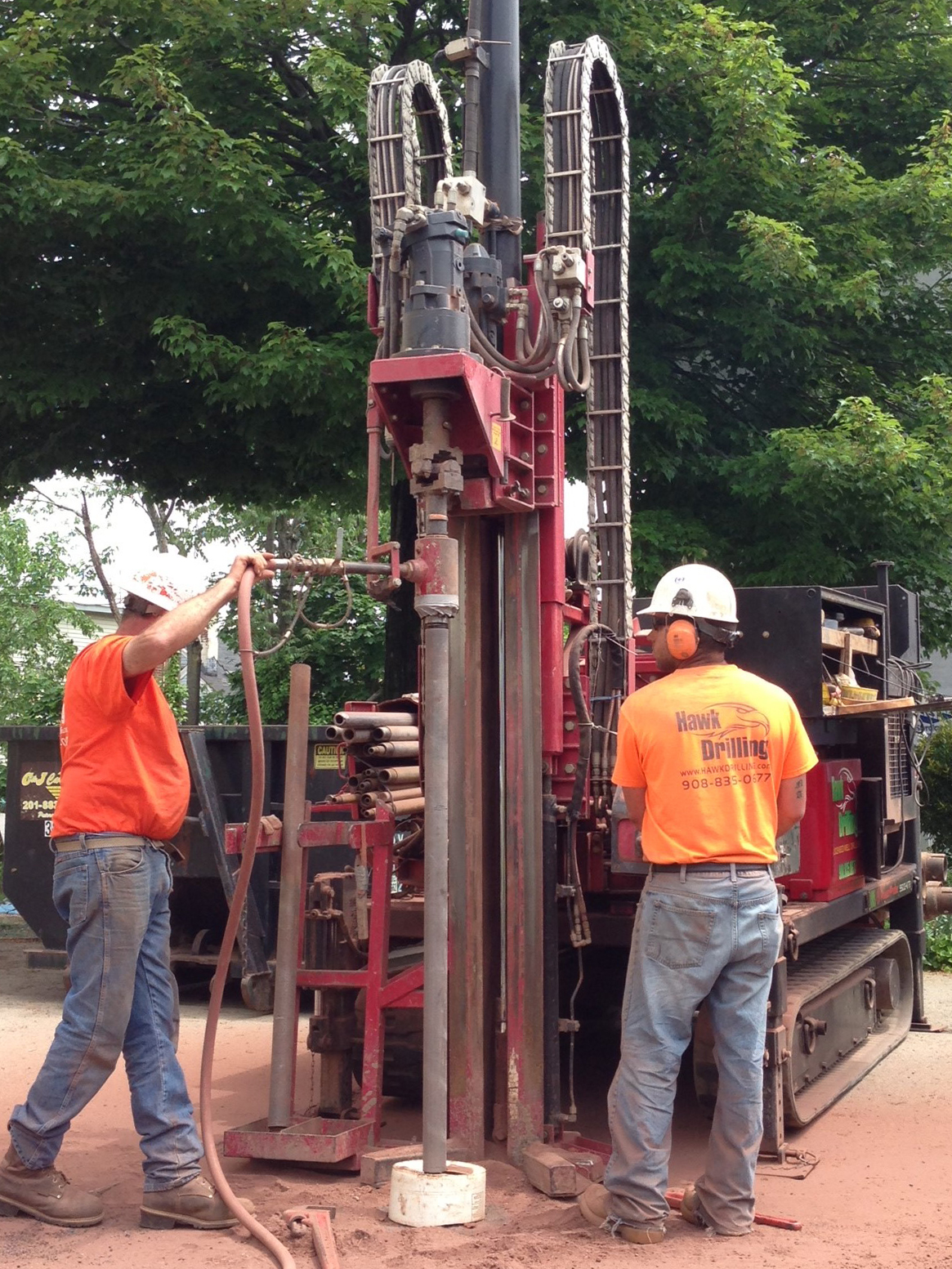 Welcome to   Hawk Drilling    New Jersey's Leading Environmental Drilling Contractor
