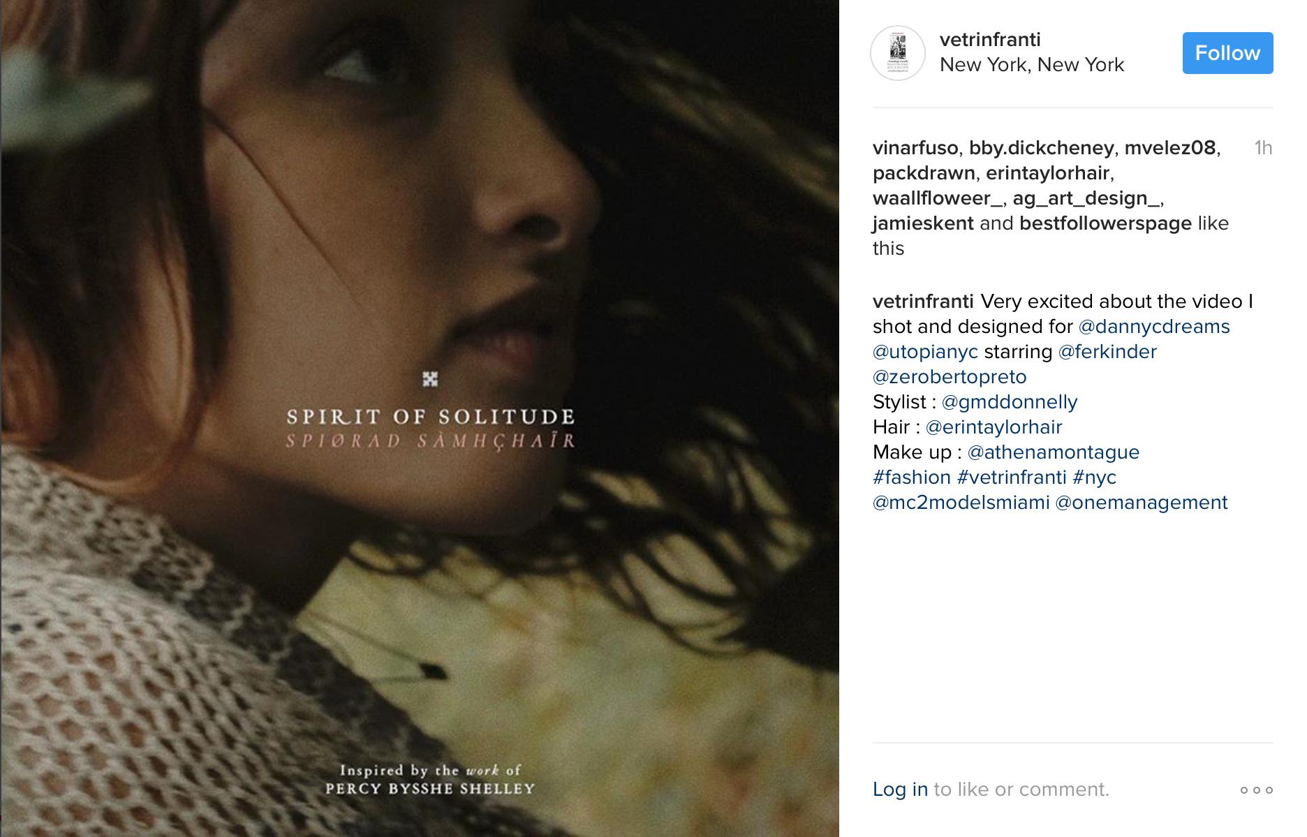 "Fernanda Kinder in ""Spirit Of Solitude"""