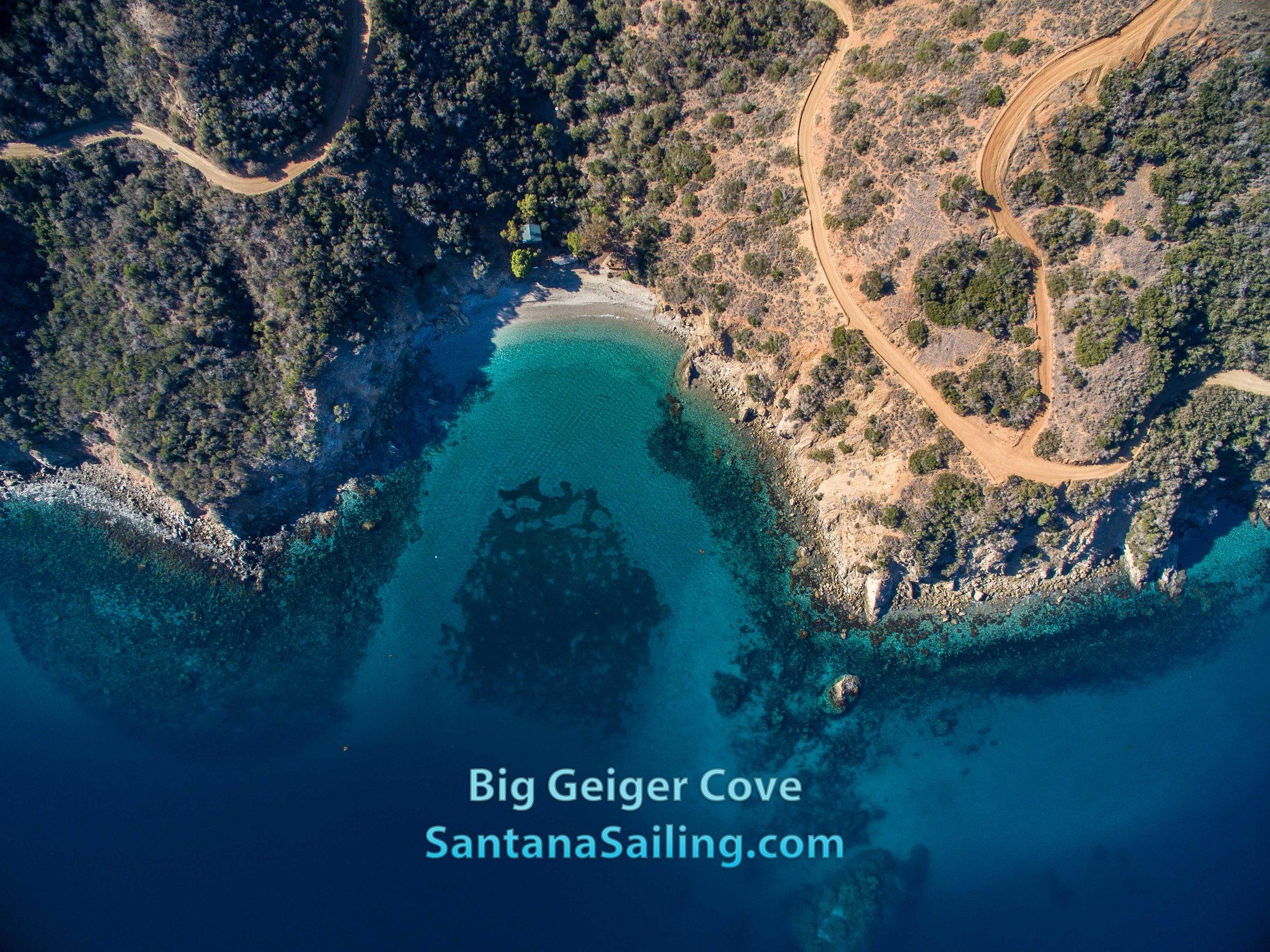 Big Geiger Cove - Sailing to Catalina Island