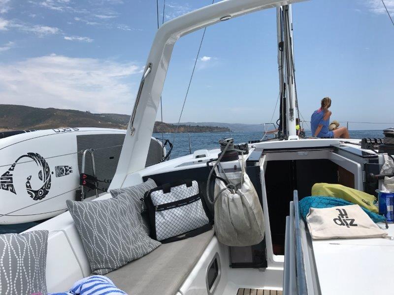 Heading down toward Emerald Bay