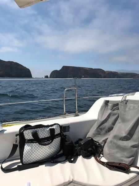 Circumnavigating Anacapa