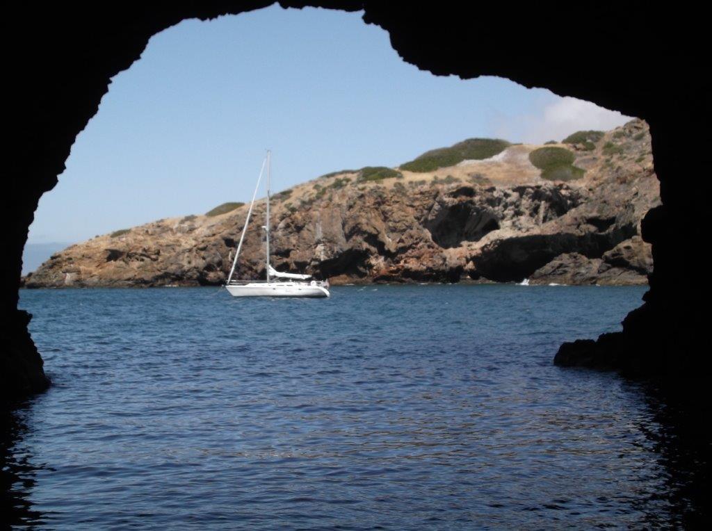 Unique anchorages abound