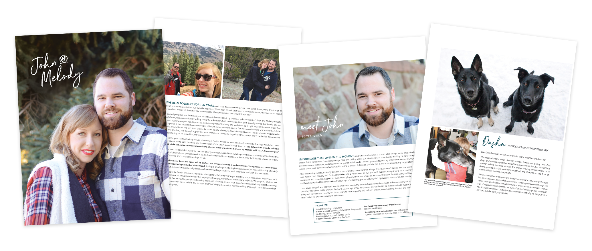 Christian Family Adoption Profile Pages