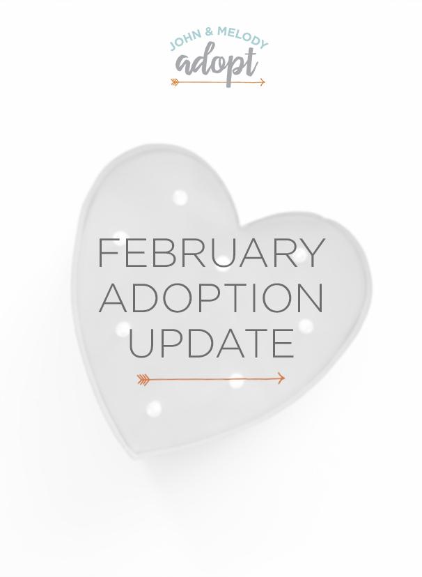 February Adoption Update