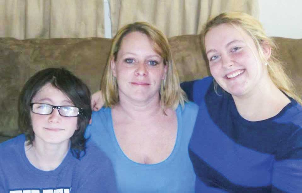 Jolene Bowman, center, left behind her son, Christopher, left, and daughter, Sommer, right, when she passed away following an overdose. The men who sold her the counterfeit pill have been prosecuted for their involvement in her death by the U.S. Attorney's Office, Eastern District of Kentucky. (Photo provided)