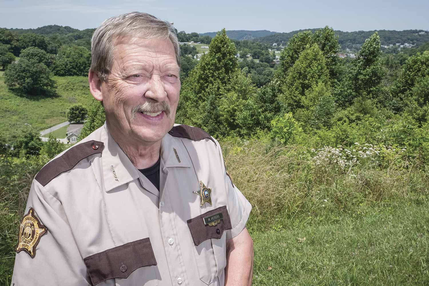 Rockcastle County Sheriff Mike Peters said his agency is using an on-call schedule between midnight and 8 a.m. as a way to make sure his county is covered on a 24/7 basis. (Photo by Jim Robertson)