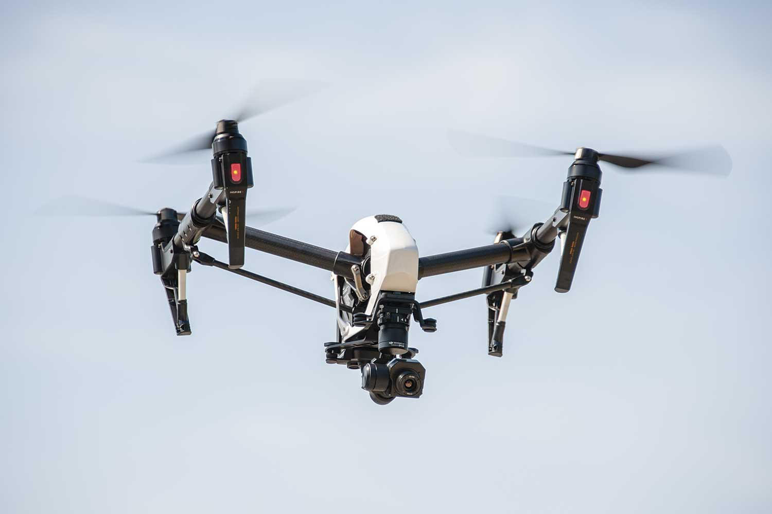 Georgetown Police Department purchased a drone about one year ago. Officers trained and assigned to the department's aviation unit have used the equipment in law enforcement operations as well as for community relations events. (Photo by Jim Robertson)