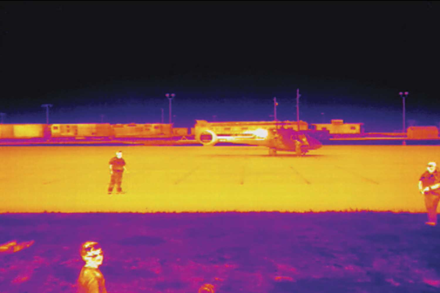 GPD's drone allows officers options, such as thermal imaging, to broaden the visibility beyond the human eye in investigations. (Photo provided)