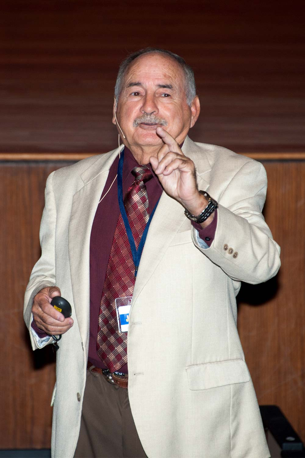 Jose Garza (Photo by Jim Robertson)