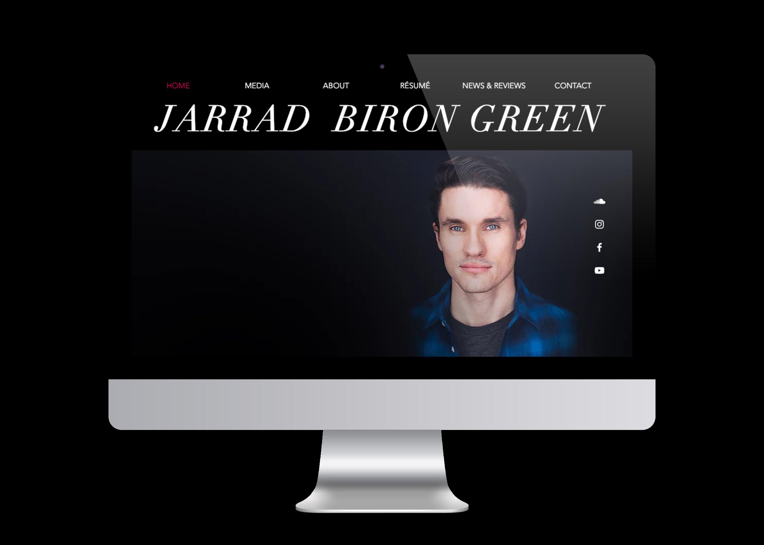 Jarrad Biron Green