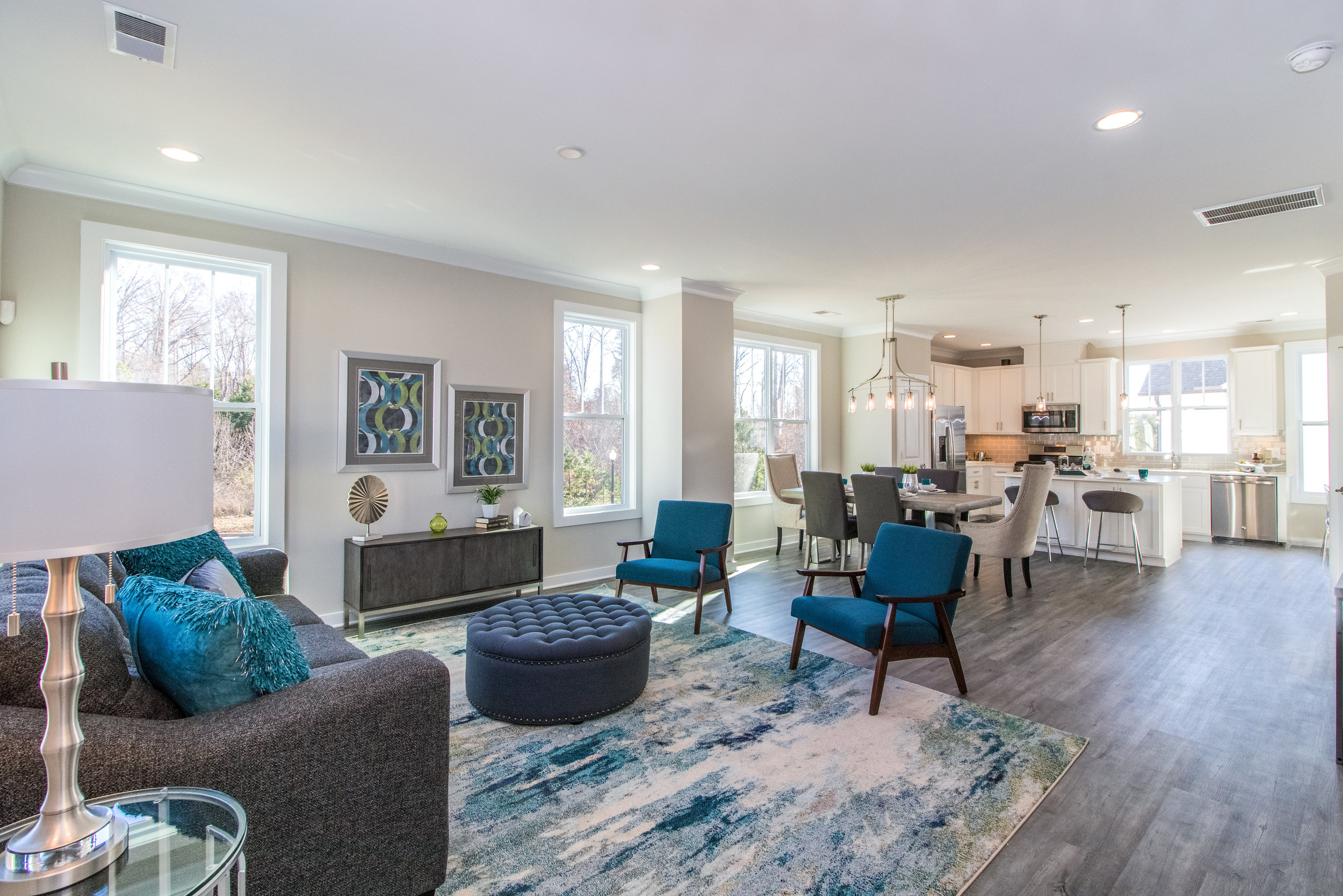 The Avenues at Ayrsley by Meeting Street - Why rent when you can own a brand new town home, customized to match your style, in the great location of Ayrsley. Choose from a 2 or 3 bedroom floor plan, many with all brick exteriors, all with attached garages.