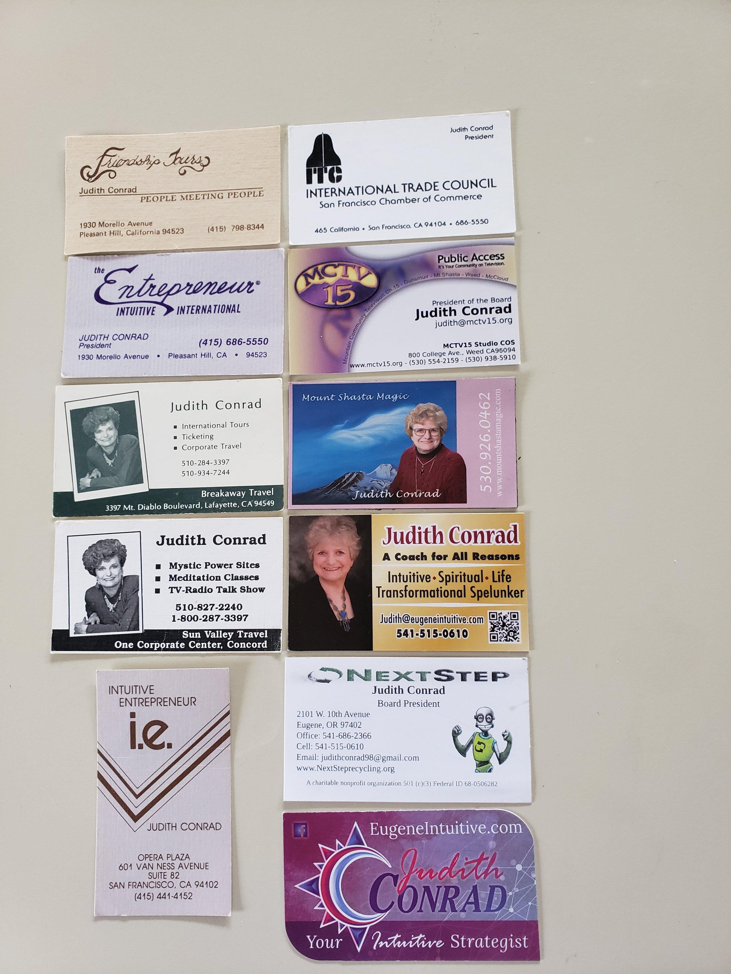 Business Card Memories