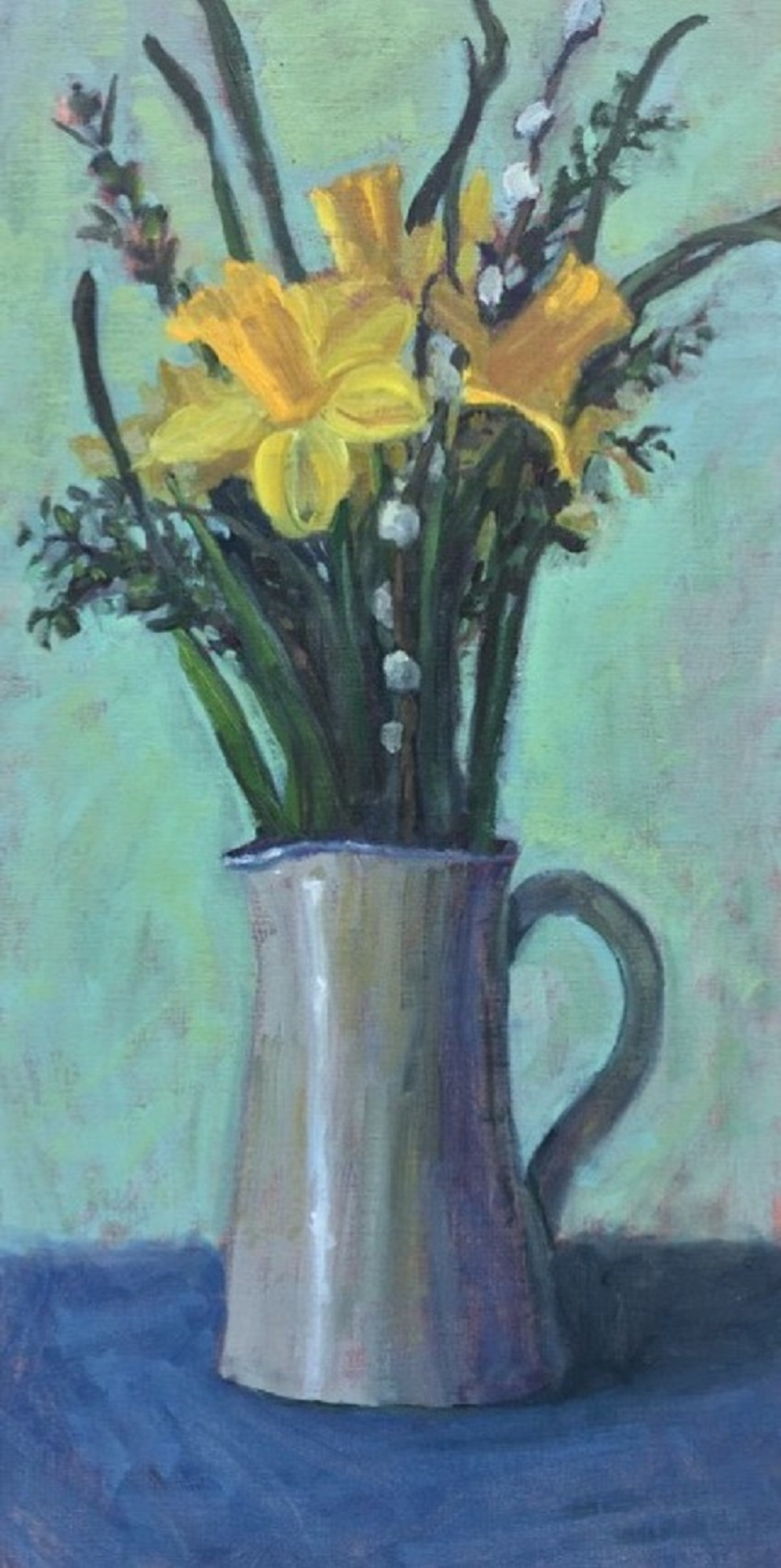 Yellow Daffodils on Tabletop.JPG