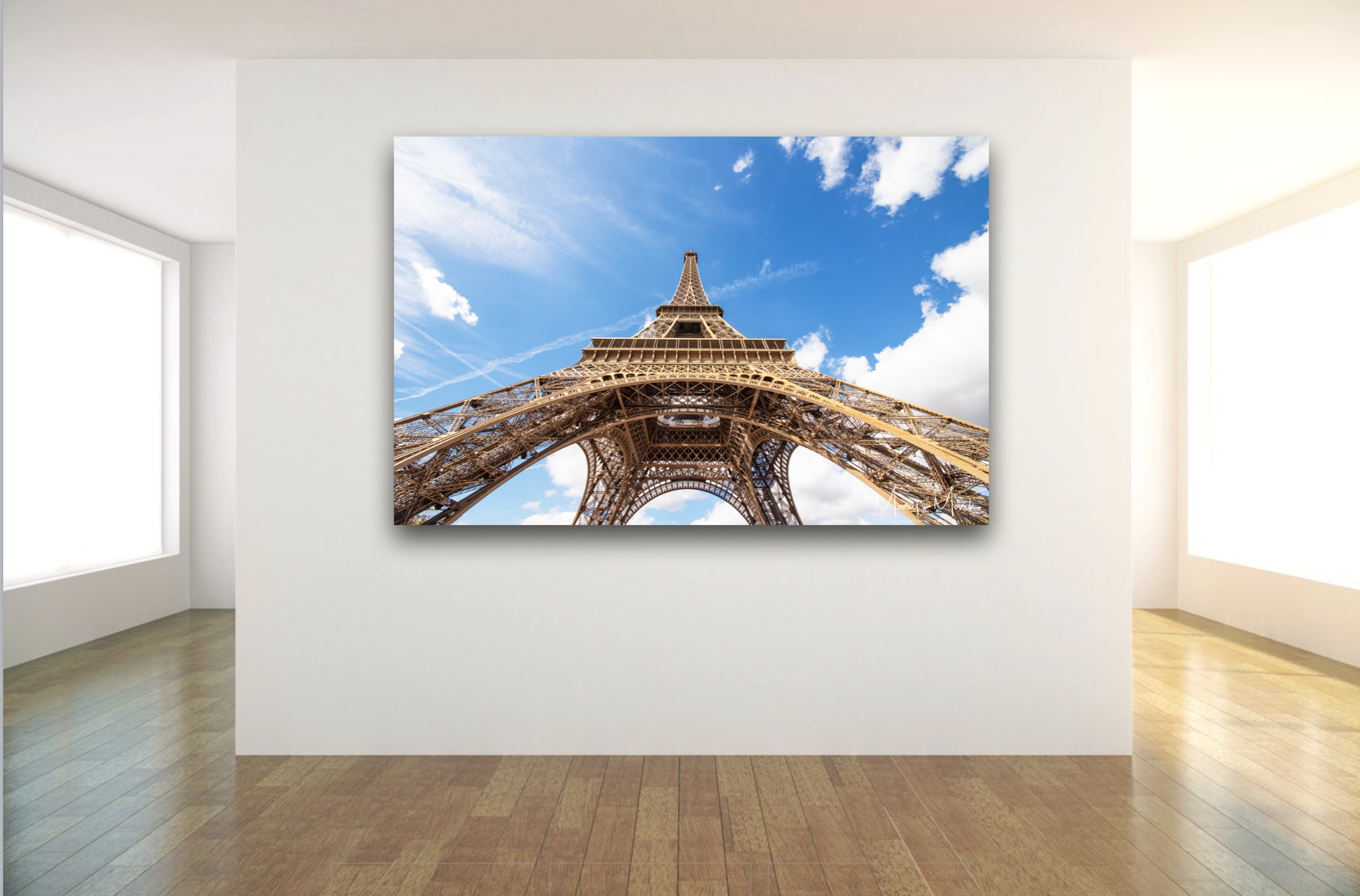 Eiffel Tower Photogaph by Photographer Mary Parkhill Fine Art Large Canvas.png