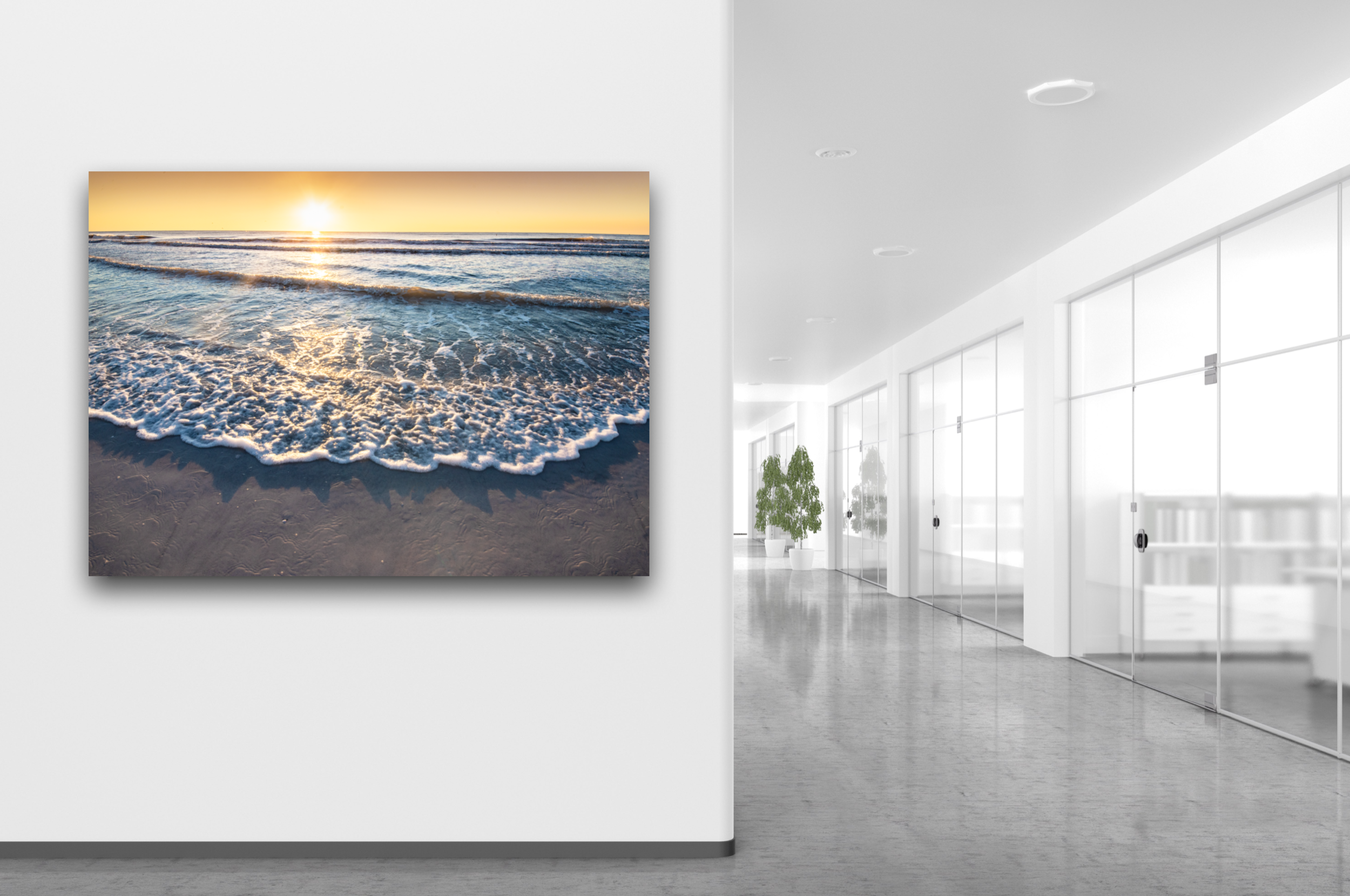 Oceanscape Large Artwork For Office Space Beautiful For Sale by Mary's Mark Photography Mary Parkhill.png