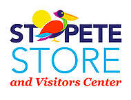 St Pete Store and Visitors Center Logo