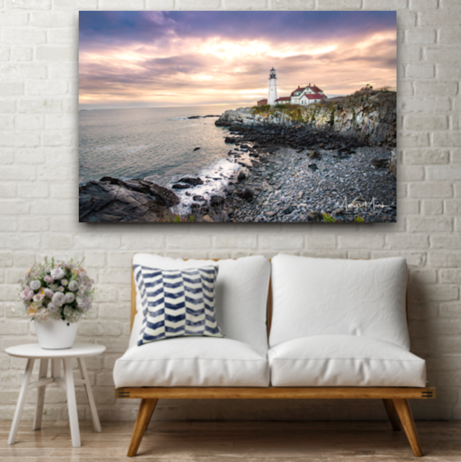 Fine Art Photograph of a Lighthouse in Portland Maine by Mary Parkhill of Mary's Mark Photography.png