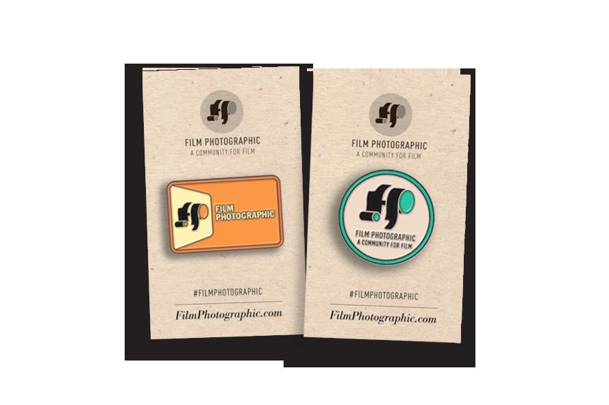 Enamel pin design, product Packaging design