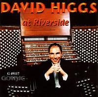 Soliloquy  David Higgs, organ David Higgs at Riverside Gothic Records 2000