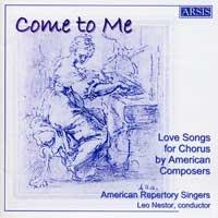 Charm Me Asleep  American Repertory Singers Leo Nestor, conductor Arsis Audio 2004