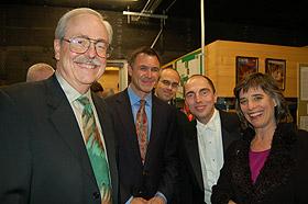 "Ladd Thomas, David Conte, Stephen Kennedy, David Higgs, Cherry Rhodes Disney Hall, Los Angeles, 2005 performance of ""Soliloquy"""