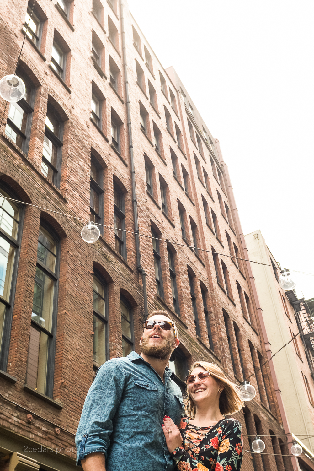 Pioneer-Square-Alley-Engagement-Photos