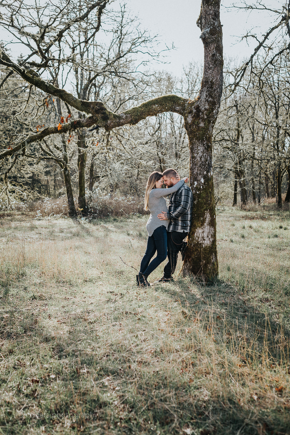 Fort Steilacoom Maternity Couple