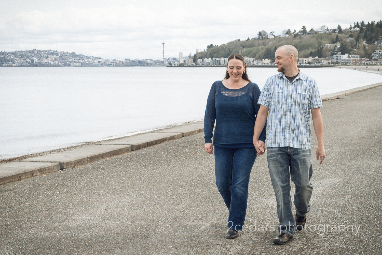 West Seattle Couple Portrait