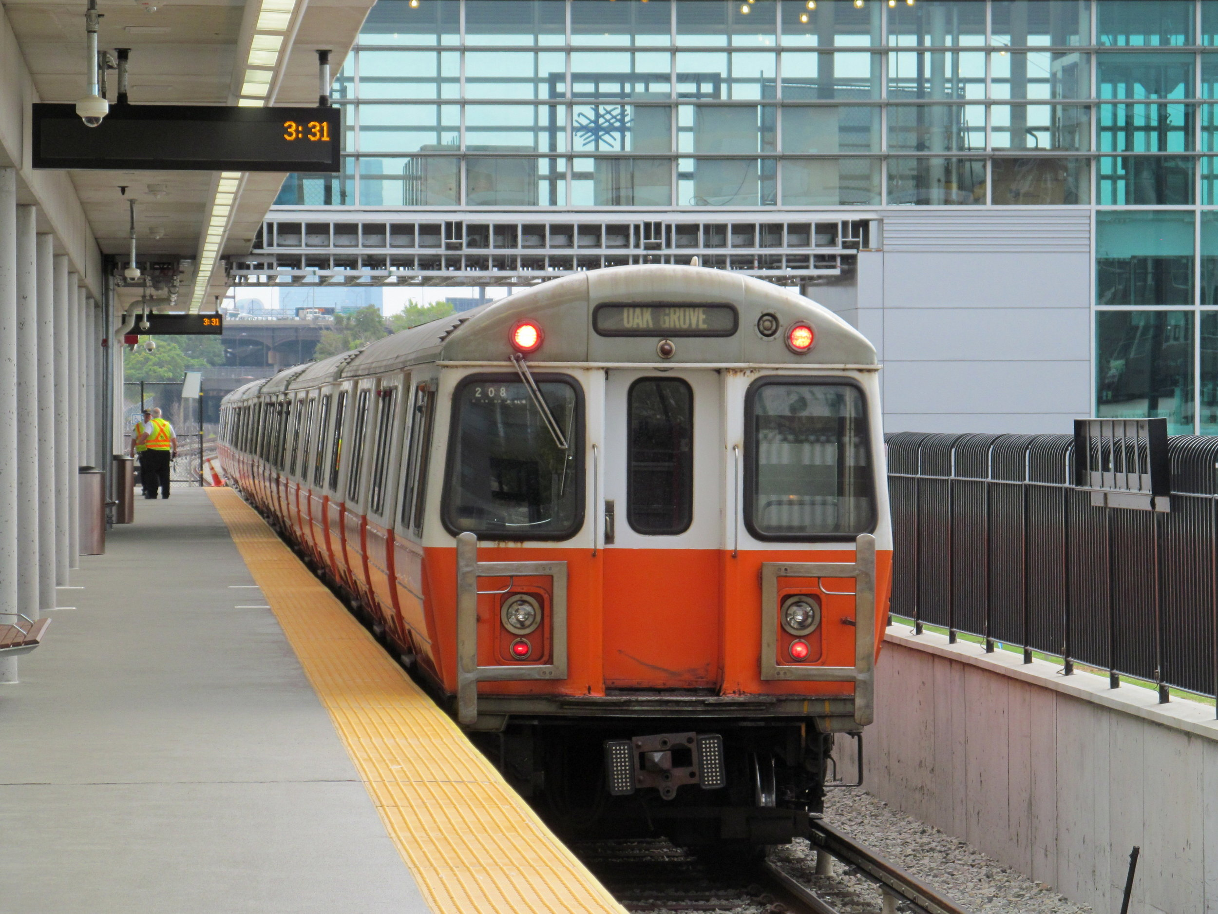 Steps from the Orange Line - View the MBTA Schedule