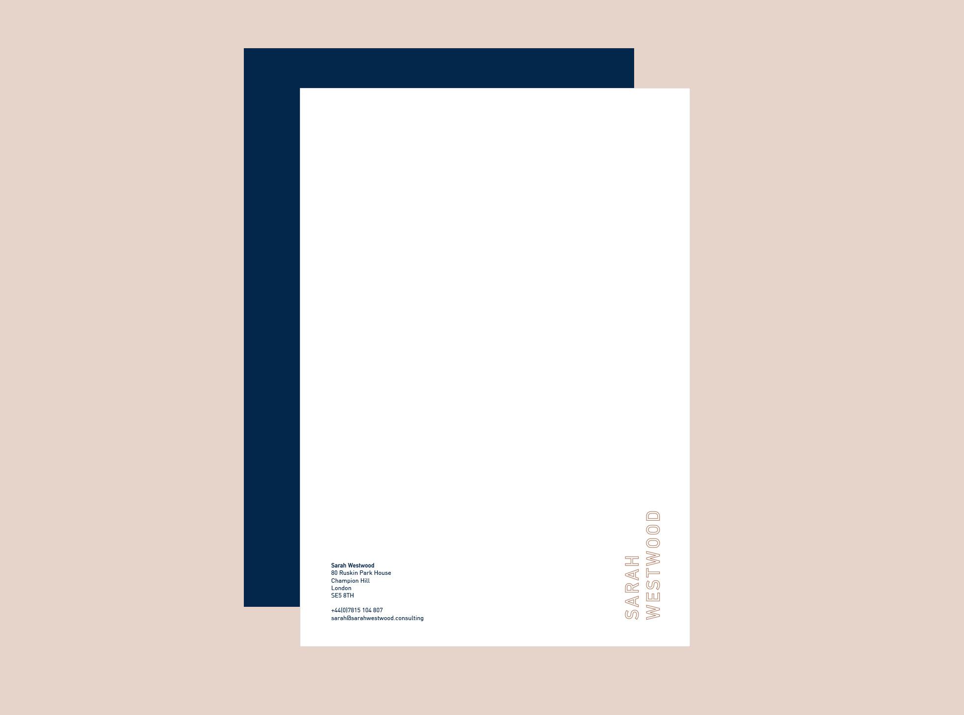 Sarah Westwood - Letterhead
