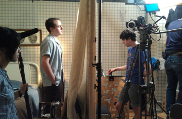 Stonestreet immerses students into an independent film studio environment.