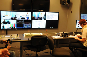 As part of their training, students also have ample and varied professional work to create reels.