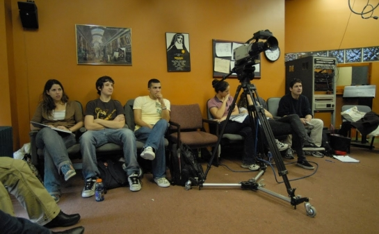 Students meet and audition regularly for agents, casting directors, managers and working directors.