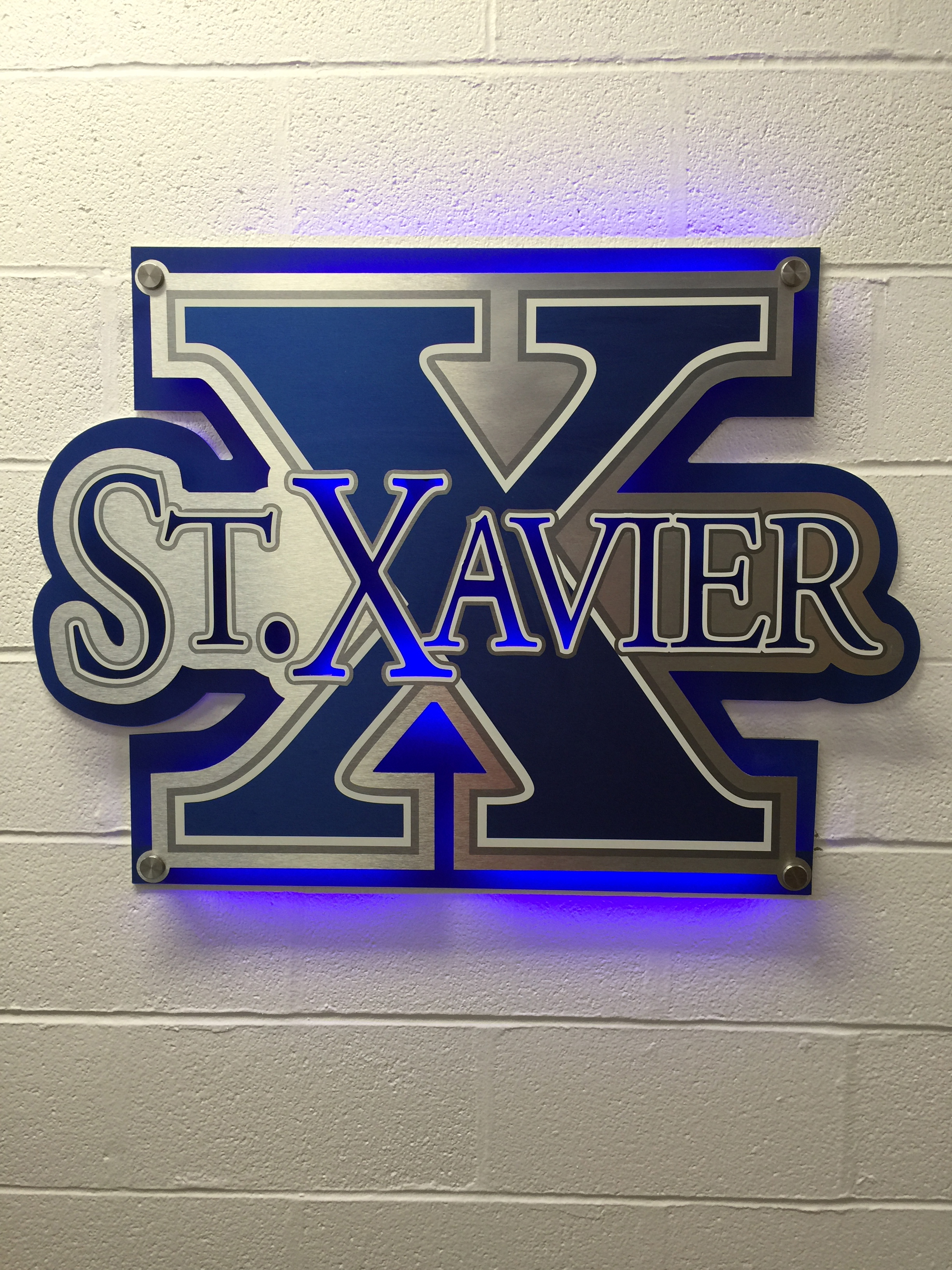 ST. XAVIER HIGH SCHOOL Basketball Locker Room
