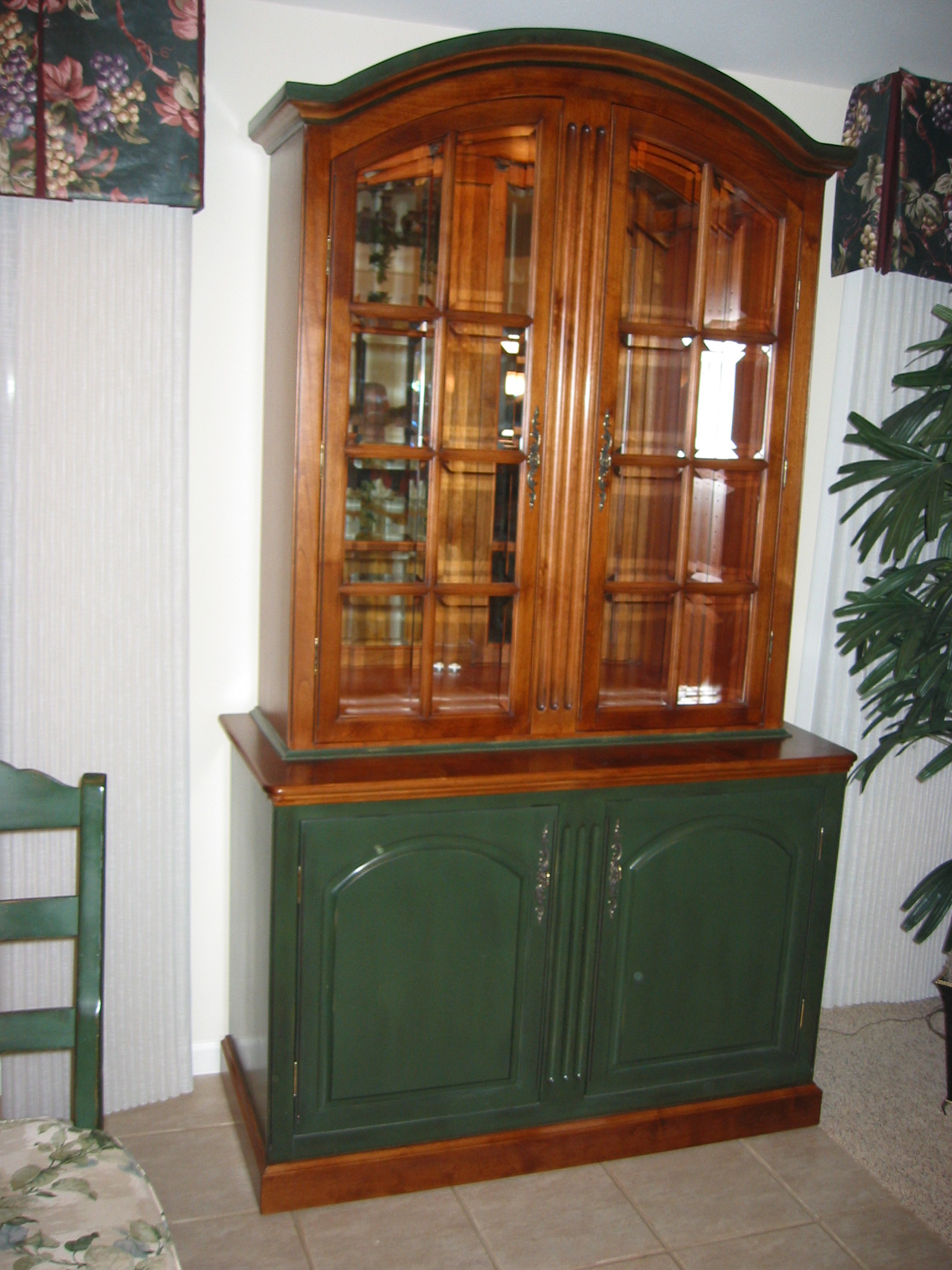 Cabinet that is custom made