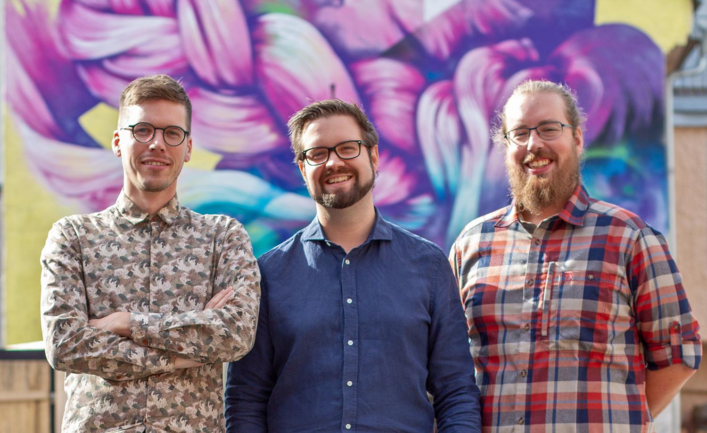 Grundarna:  Thijs Keesenberg, Anders Elfving, Anders Carling