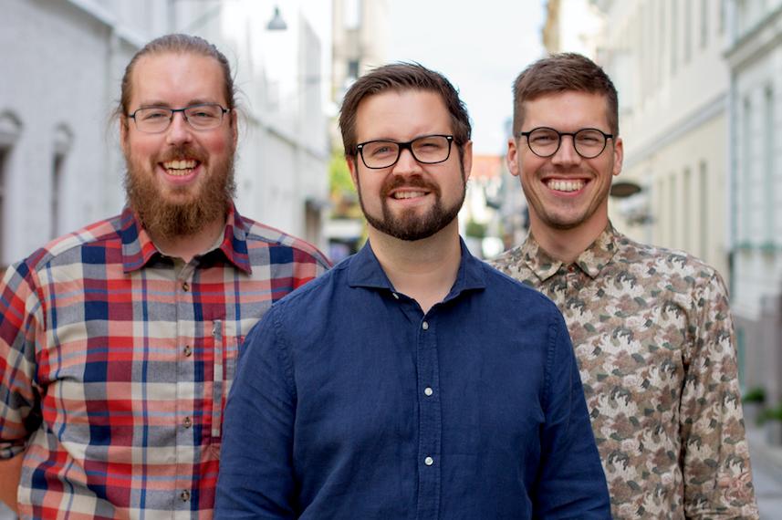 Grundarna:  Anders Carling, Anders Elfving, Thijs Keesenberg
